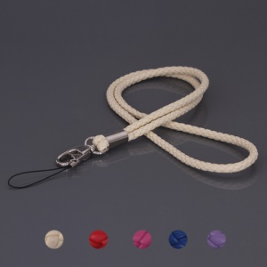 Stylish Leather Cell Phone Strap for Camera / Cell Phone (Length: 36cm)