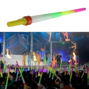 Retractable LED Fluorescence Glow Stick for Concert/ Evening Party/Outdoor Activities