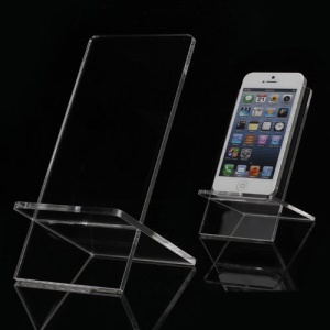 Transparent Display Stand Holder Bracket for iPhone 5 Samsung i9300 Galaxy S3 HTC Windows Phone 8X MP3 MP4 etc