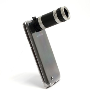 8X Zoom Camera Telescope Lens with Case Cover for Samsung Galaxy Note 2 N7100