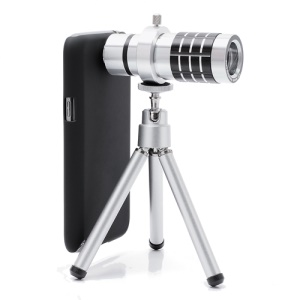 Optical 12X Zoom Telescope Lens + Case +Tripod for Samsung Galaxy Note II 2 N7100