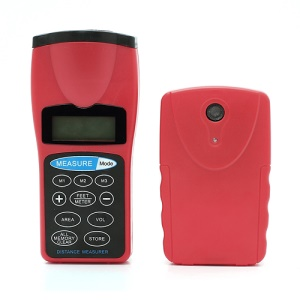 New Handheld Ultrasonic Laser Point Distance Area Volume LCD Measurer