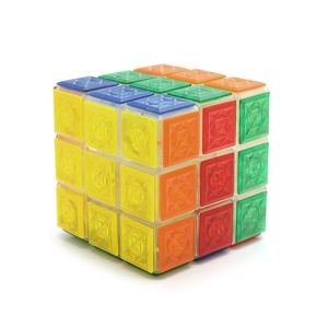 Puzzle Magic Rubik-cube Rubix Speeding Speed Move 3 x 3