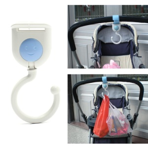 1 Pair Baby Outdoor Shopping Hanging Pram Hook Hanger for Stroller