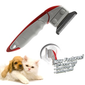 ShedEnder Professional Pet Dog Cat De-Shedding Tool Brush Comb