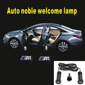 Laser Car Ghost Shadow Light LED Welcome Light Car Door Lamp - BMW M3