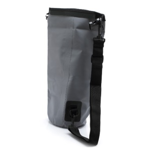 5L Outdoor Durable Waterproof Dry Bag Pouch with Shoulder Strap - Grey