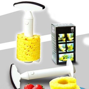 Hot Plastic Pineapple Peeler Fruit Corer Slicer Parer Kitchen Tool