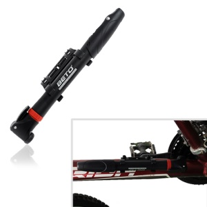 BETO CMP-004 Portable Mini Plastic Bicycle Pump