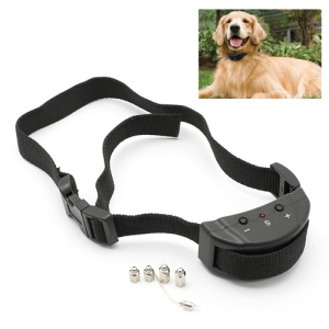 Pet Control Stop Barking Training Anti-Bark Shock Collar with Sensitivity Adjustable Buttons
