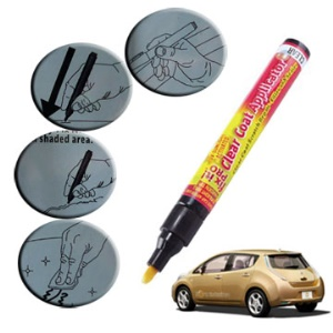 Simoniz Fix It Pro Clear Coat Scratch Repair Pen Filler and Sealer