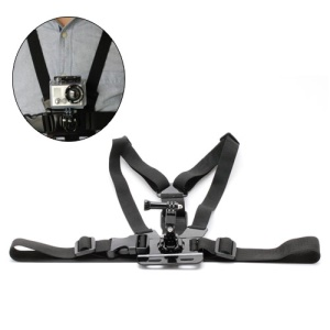 Adjustment Elastic Body Chest Harness Straps Belt for Gopro Hero 1 2 3