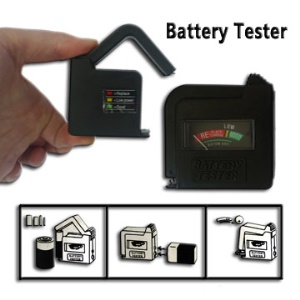 Smart Universal AA AAA 9V Button Battery Tester Checker