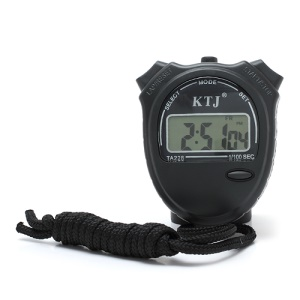 KTJ Chronograph Digital Sports Stopwatch Time Alarm Calendar TA228