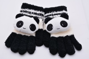 Cute Panda Touch Screen Warm Gloves for iPhone iPad iPod Samsung HTC