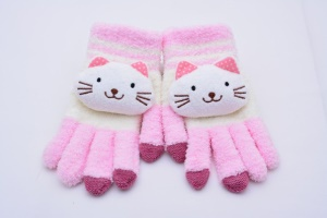 Adorable Cat Touch Screen Warm Gloves for Samsung HTC iPhone iPad iPod