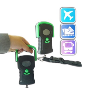 Digital Travel/Mailing Luggage Scale Hand Held+Strap,Max 100lb 44kg