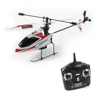 WLtoys V911 4-Channel 2.4GHz Single Propeller Remote Control RC Helicopter - Black / Red