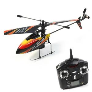 WLtoys V911 4-Channel 2.4GHz Single Propeller Remote Control Helicopter - Orange / Black