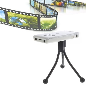 Mini USB 2.0 Multimedia Projector LCOS Display 320 x 240 - White