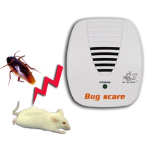 Ultrasonic Mouse Rat Pest Control Repeller Bug Scare (24 Hour Protection)