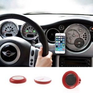 Red Udilis Universal Magnet Sticker Car Air Vent Phone Mount Holder for iPhone 5s 5c Samsung Galaxy S5 Nokia XL LG Sony