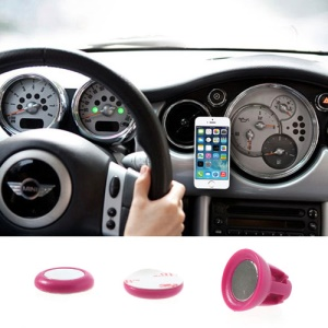 Rose Udilis Universal Magnet Sticker Car Air Vent Phone Mount Holder for iPhone 5s 5c Samsung Galaxy S5 Nokia XL LG Sony