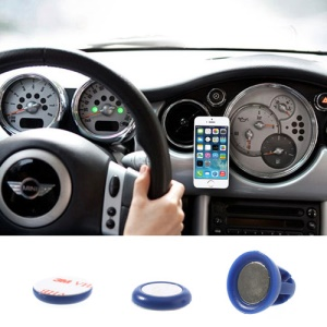 Blue Udilis Universal Magnet Sticker Car Air Vent Phone Mount Holder for iPhone 5s 5c Samsung Galaxy S5 Nokia XL LG Sony