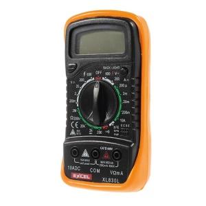 Excel XL-830L Digital LCD Multimeter Voltmeter Ammeter Ohmmeter Tester