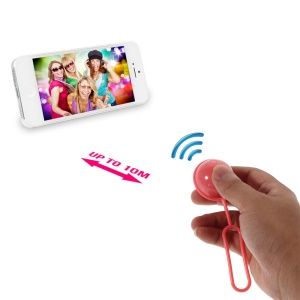 Rose iPega Mini Ball Bluetooth Remote Control Self-Timer Shutter for iOS iPhone iPad Android Smartphone Samsung HTC