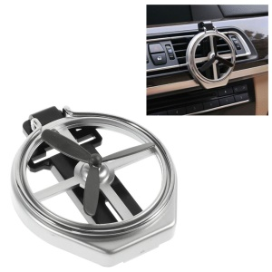 Car Air Vent Foldable Cup Can Drink Holder - Silver