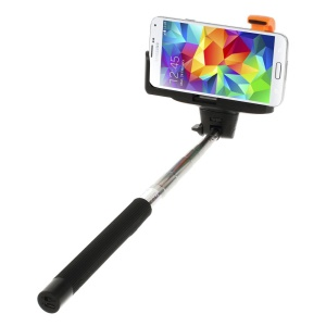 Black Wireless Handheld Extendable Self-Timer Monopod for Android 3.0 or IOS 4.0 above Smartphones (KJstar Z07-5 2nd Gen)