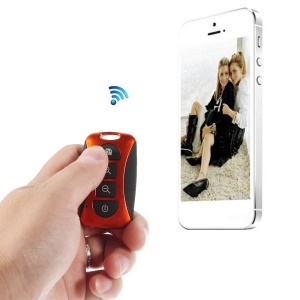 Red TY-101 Mini Bluetooth Remote Shutter Self-Timer for iPhone Samsung Galaxy S5 S4 Note 3 Etc