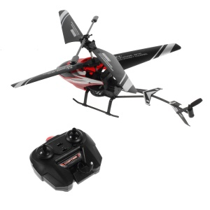 F62018 2-Channel Electric Infrared Remote Control R/C Helicopter - Red