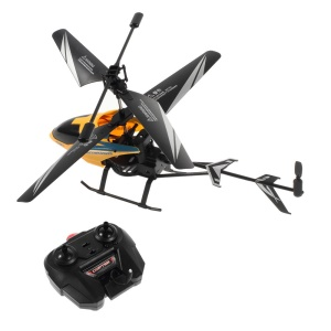 F62018 2-Channel Electric Infrared Remote Control R/C Helicopter - Yellow