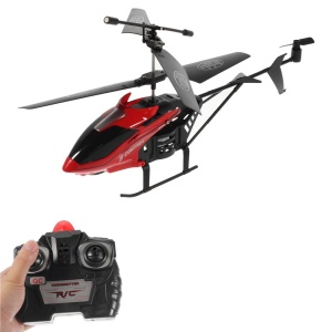 S31 Rechargeable 2-Channel Remote Aircraft RC Helicopter Toy with Gyro - Red