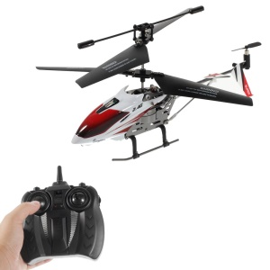 X-126 Mini 2.4GHz 3.5-Channel Remote Control Airplane RC Helicopter with Gyroscope - Red