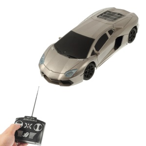 Jun Hong 2833 1:20 Radio Control Racing Car with LED - Champagne