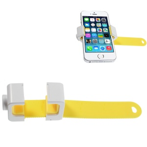 AHOLDB Hold Q Adjustable Tripod Monopod Phone Holder for iPhone Samsung HTC etc - Yellow