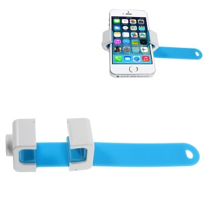 AHOLDB Hold Q Adjustable Tripod Monopod Phone Holder for iPhone Samsung HTC etc - Blue