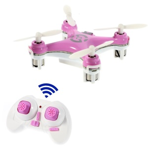 Cheerson CX-10 4-CH 2.4GHz Nano RC Quadcopter UFO Toy - Pink