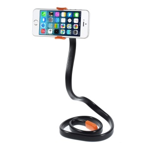 Flexible Neck Table Phone Holder Self-shooting Holder for iPhone Samsung HTC etc - Red