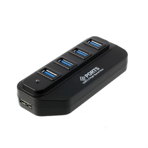 USB 3.0 Hub 4 Port Super-speed Super Speed 5Gbps