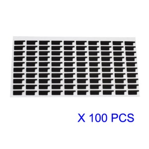 100pcs/Lot LCD FPC Contactor Shielded Sponge Pad Foam Cushion for iPhone 4