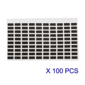100pcs/Lot Digitizer FPC Contactor Shielded Sponge Pad Foam Cushion for iPhone 4