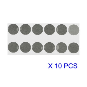 Home Button Metal Spacer Cushion for iPhone 4 10pcs/Lot