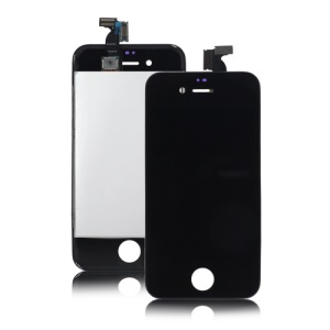 LG Brand LCD Screen and Touch Screen Digitizer for iPhone 4 - Black