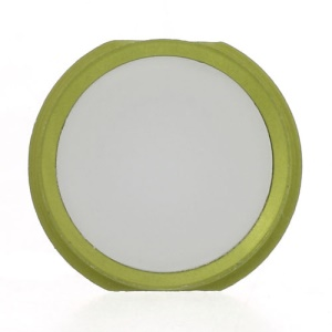 iPhone 5s Style Home Button Key Spare Part for iPhone 4 - Green / White