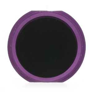 iPhone 5s Style Home Key Button Repair Part for iPhone 4 - Purple / Black