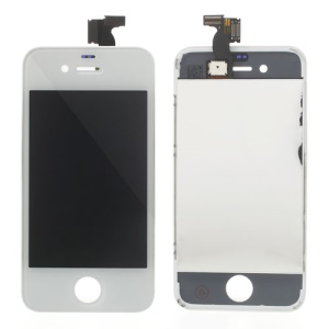 For iPhone 4 LCD Screen Digitizer Assembly Replacement Parts - White